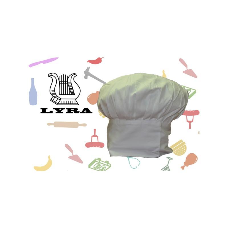 Promoción Sombrero de chef modelo Clásico
